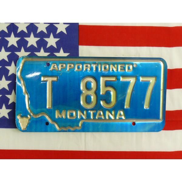 Americká spz Montana t8577