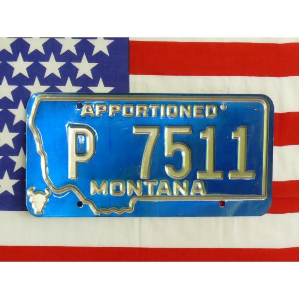 Americká spz Montana p7511