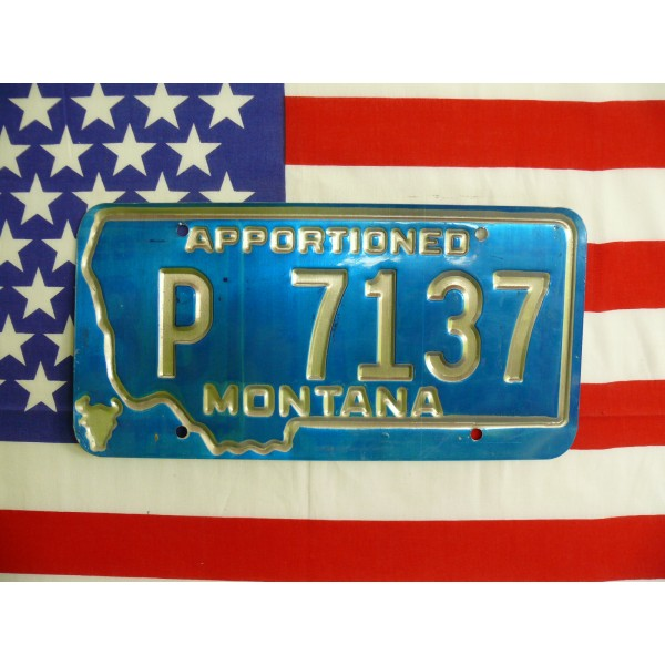 Americká spz Montana p7137