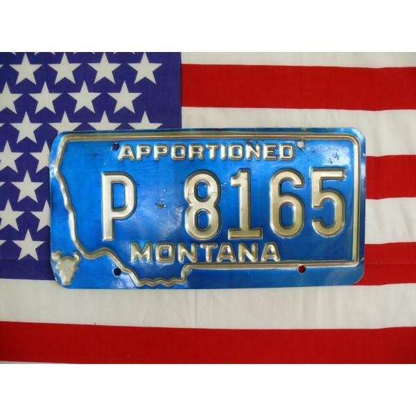 Americká spz Montana p8165