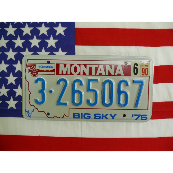 Americká spz Montana 3 265067
