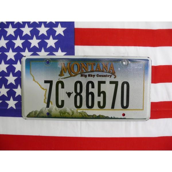 Americká spz Montana 7c-86570