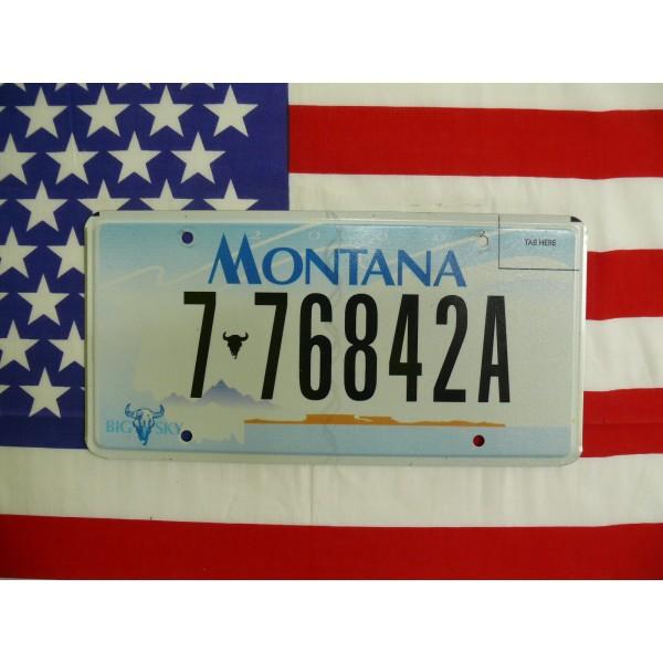 Americká spz Montana 7-76842a