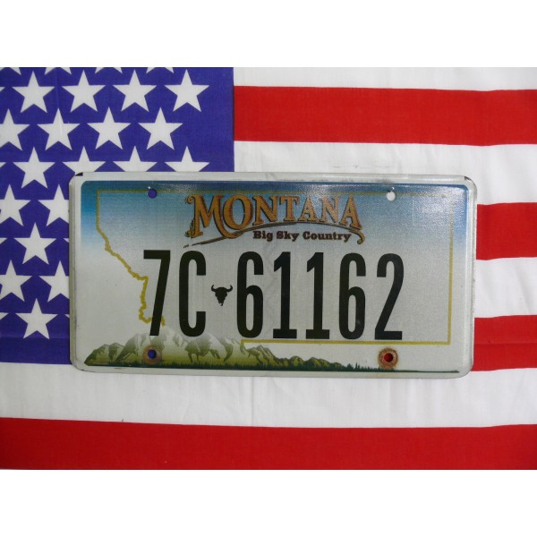 Americká spz Montana 7c-61162
