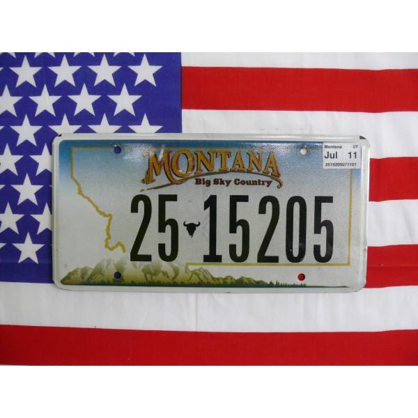 Americká spz Montana 25-15205
