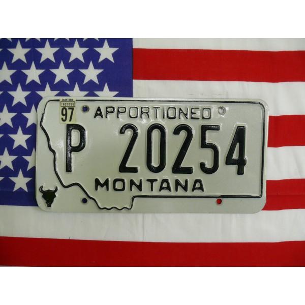 Americká spz Montana p20254