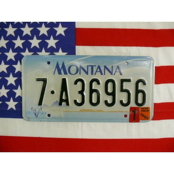 Americká spz Montana 7-a36956