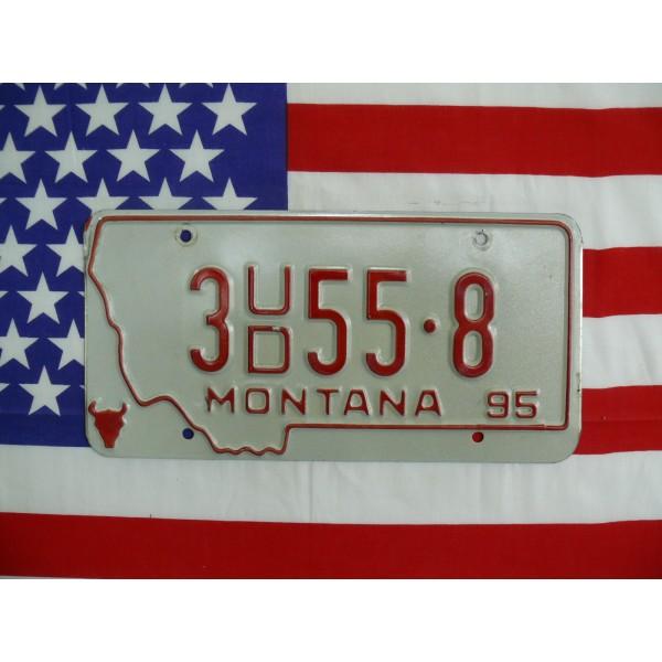 Americká spz Montana