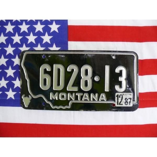 Americká spz Montana 6d28-13