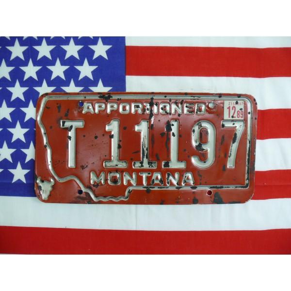 Americká spz Montana t11197