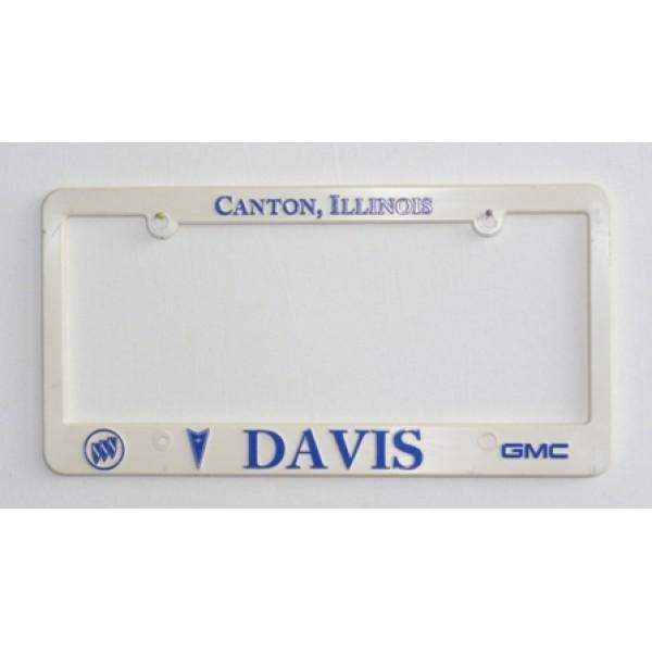 Rámeček na SPZ GMC DAVIS
