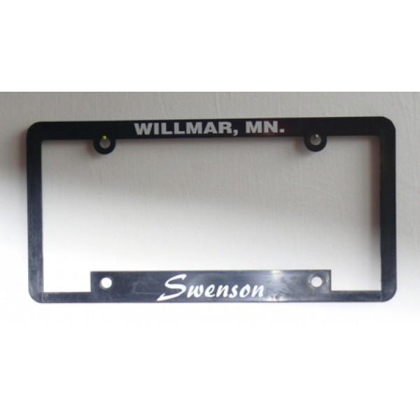 Rámeček na SPZ Swenson Willmar