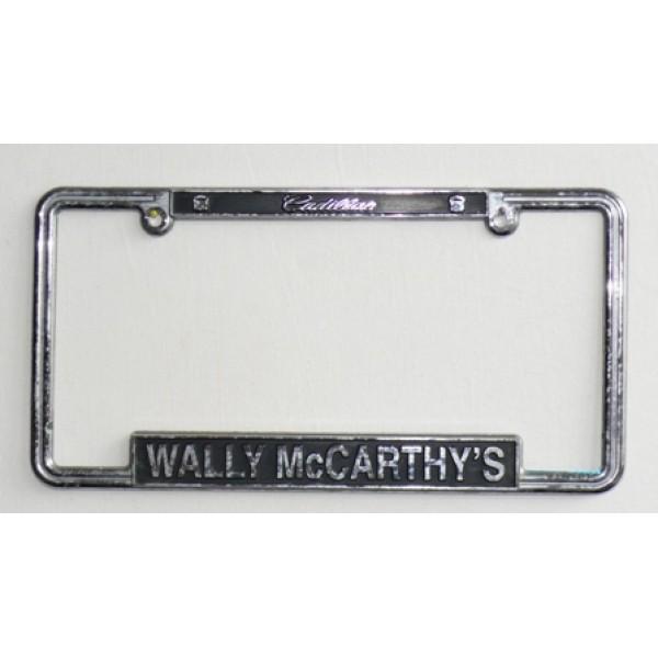 Rámeček na SPZ WALLY McCARTHY´S