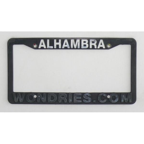 Rámeček na SPZ ALHAMBRA WONDRIES.COM