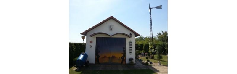 Nádherná garáž v US stylu v Česku!