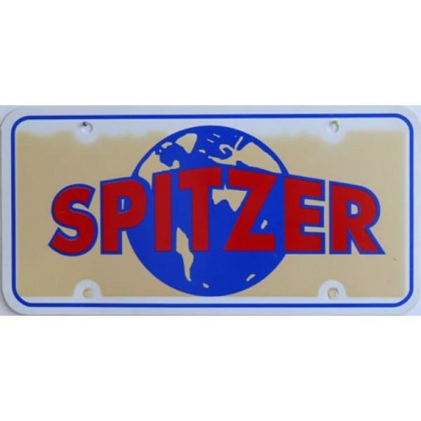 Americká reklamní SPZ prodejců automobilů SPITZER