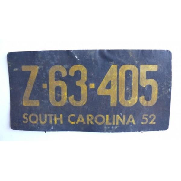 Americká Filmová SPZ South Carolina
