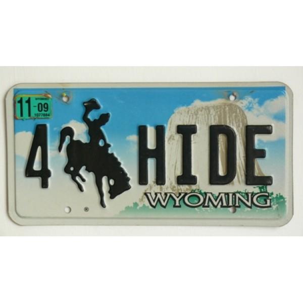 Americká SPZ Wyoming vanity