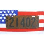 Americké spz Ohio historické 1917 pár