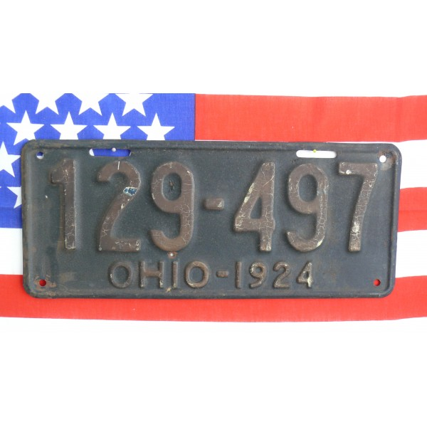 Americká spz  Ohio historická 1924