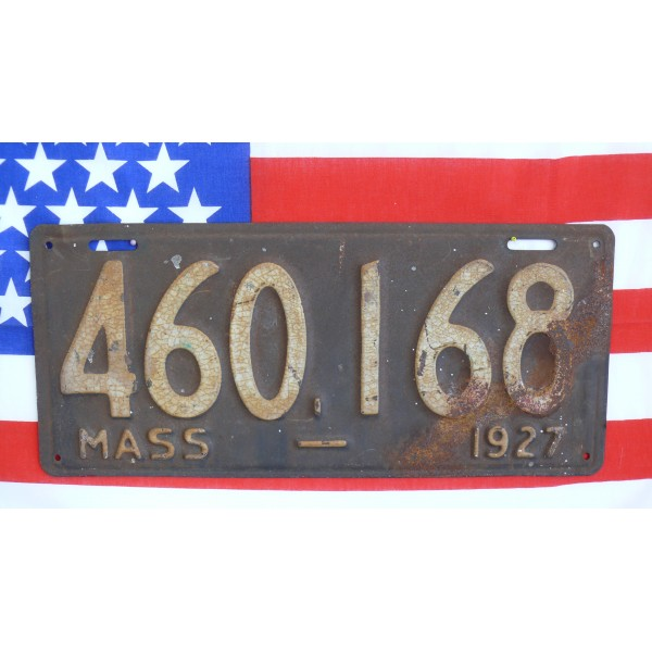 Americká spz Massachussetts historická 1927