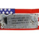 Americká spz Pennsylvania historická 1915