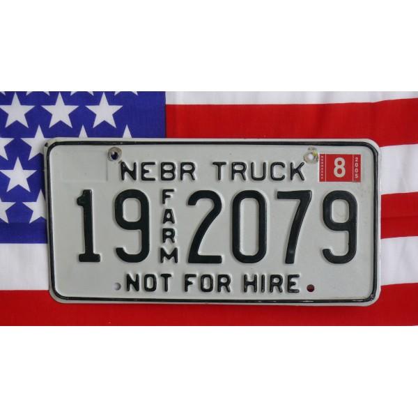 Americká spz Nebraska