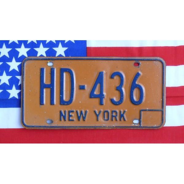 Americká SPZ New York historická HD 1