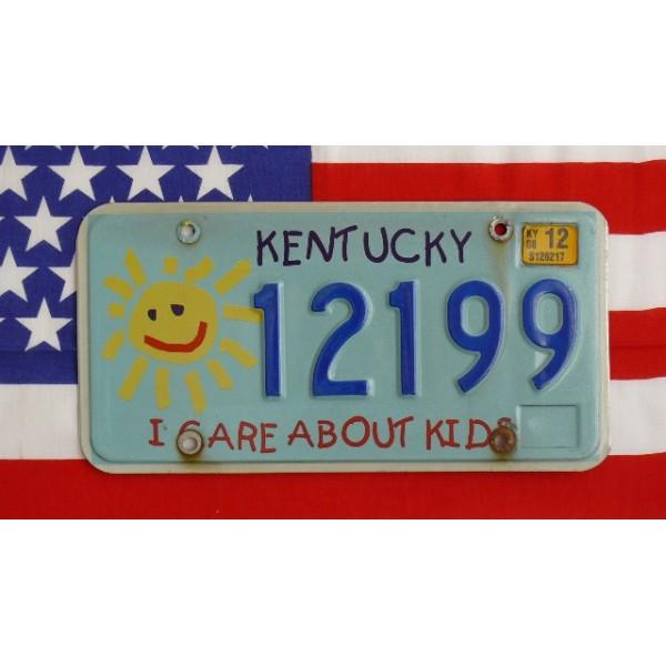 Americká SPZ Kentucky