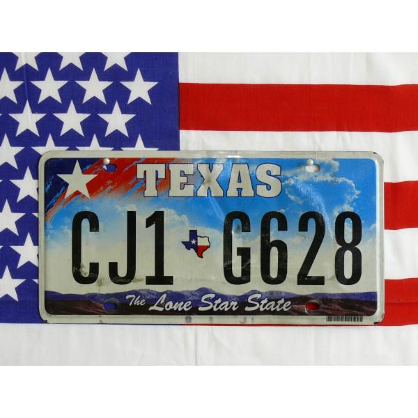 Americká SPZ Texas