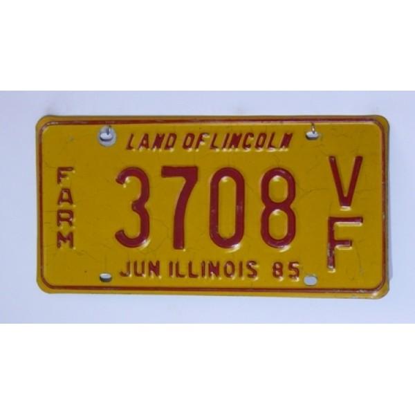 Americká spz Illinois pár