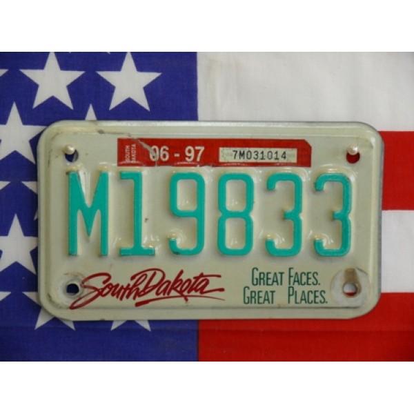 Americká Moto SPZ South Dakota