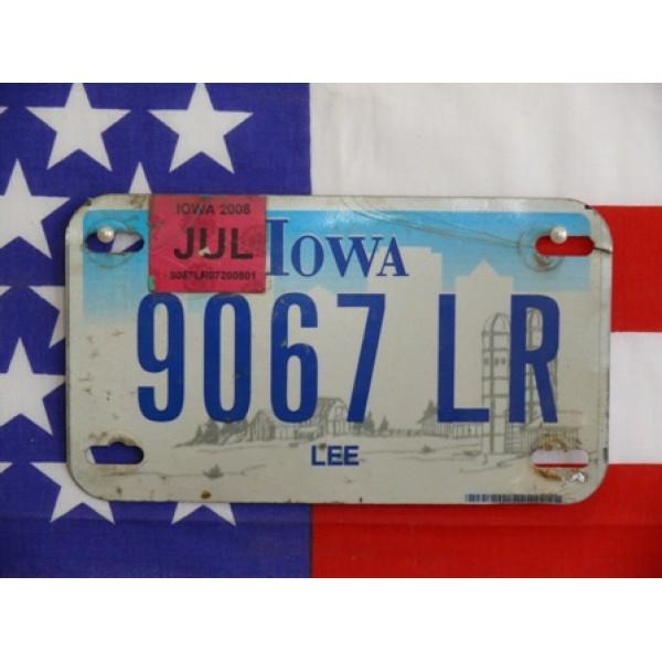 Americká Moto SPZ Iowa