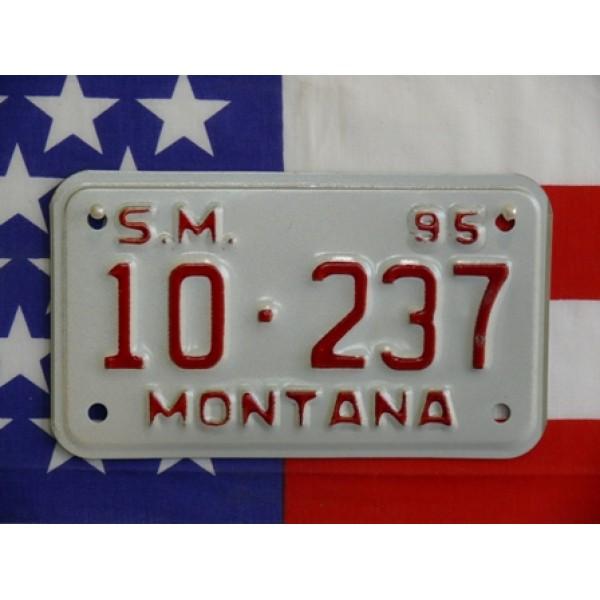 Americká Moto SPZ Montana 1995