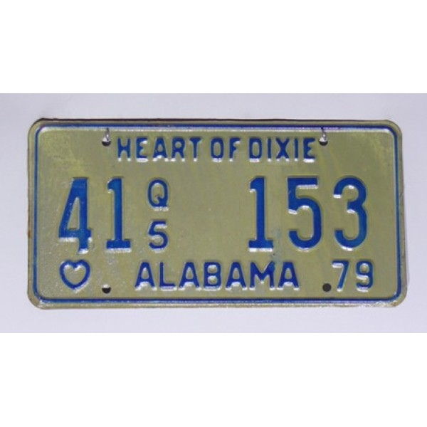 Americká SPZ Alabama