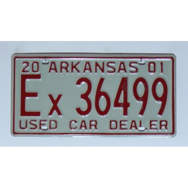 Americká SPZ Arkansas