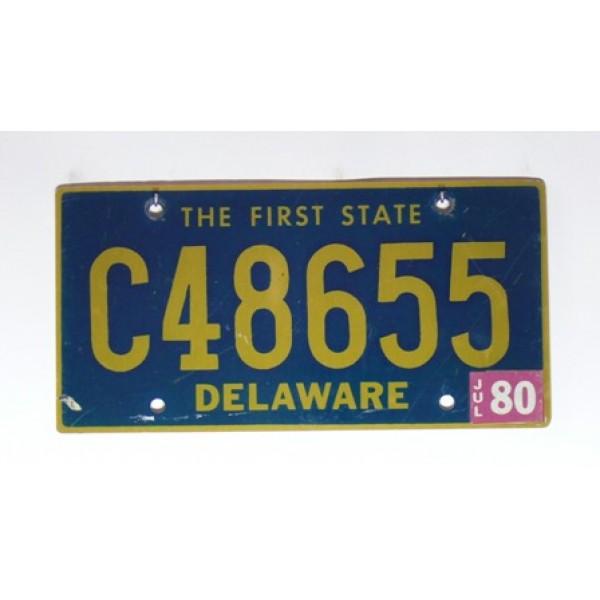 Americká SPZ Delaware