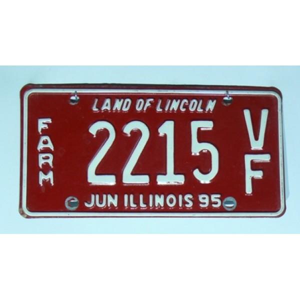 Americké SPZ Illinois pár