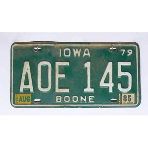 Americká SPZ Iowa