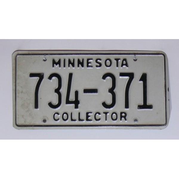 Americká SPZ Minnesota collector