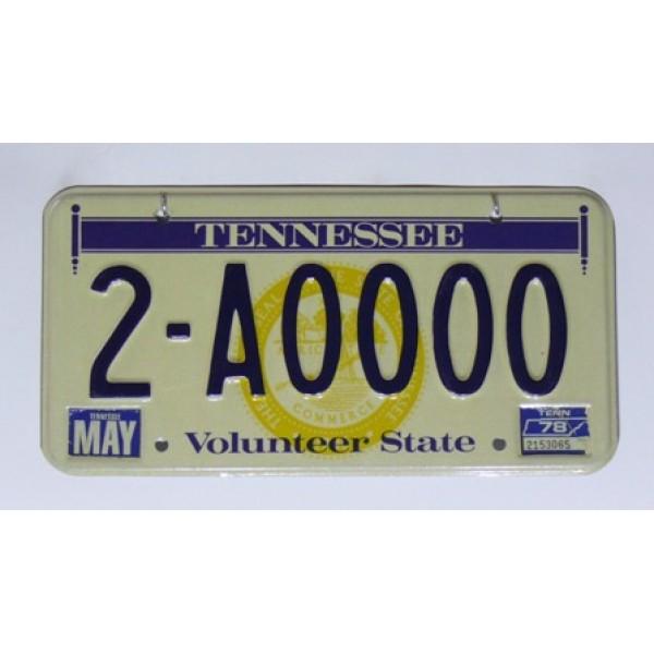 Americká SPZ Tennessee