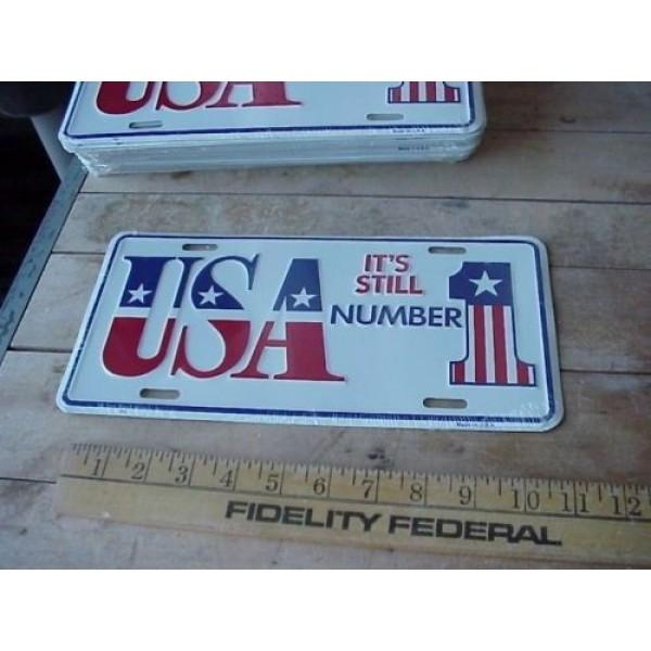 Americká reklamní SPZ USA