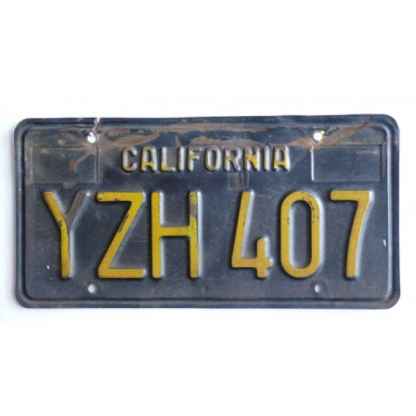 Americká spz California historická