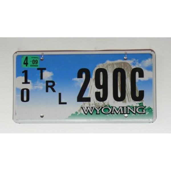 Americká SPZ Wyoming