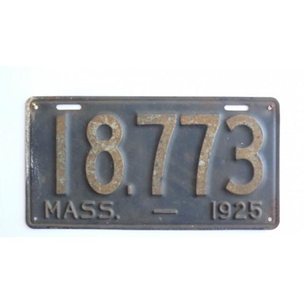 Americká spz Massachussetts historická 1925