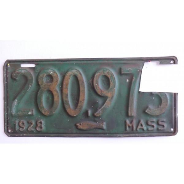 Americká spz Massachussetts historická 1928