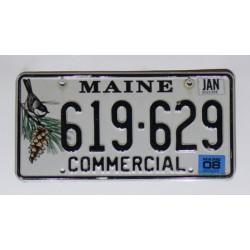 Americká SPZ Maine
