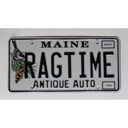 Americká SPZ Maine Vanity